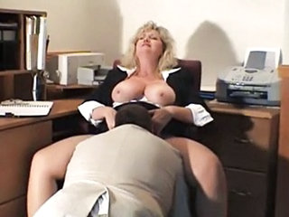 Office Clothed Secretary Big Tits Big Tits Mature Mature Big Tits