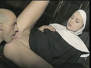 Nun Uniform Clothed Ass Licking Clothed Fuck