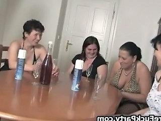 Pack Of Horny Mature Women Loves Abusing Part6