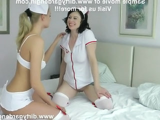 Sexy Nurses Kinkynikky  Dirtygardengirl Plays With Extreme Xxl S