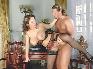 Milf: Gorgeous Big Tit Euro Constance Devil