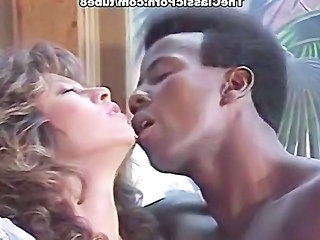 Kissing Interracial Pornstar
