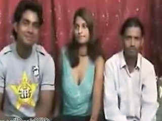 Desi, Indian, Babe's Threesome  Asian Cumshots Asian Swallow Japanese...