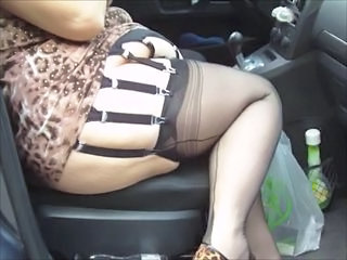 Stockings Car Wife Amateur Bbw Amateur Bbw Wife