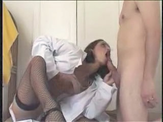 Uniform Nurse Arab Arab Nurse Young Stockings
