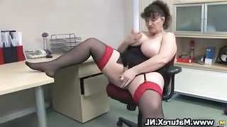 BBW Mature Stockings