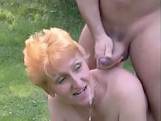 Swallow Cumshot Outdoor Cumshot Ass Cumshot Mature German