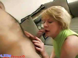 Nasty Mature Slut Gets Facial Load