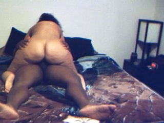 Riding Interracial Chubby