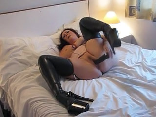 Latex Chubby Dildo