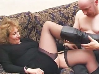 Mature Stockings Chubby