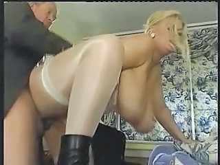 Blonde Doggystyle BBW