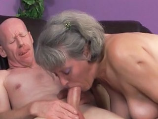 Older Wife Blowjob Older Man