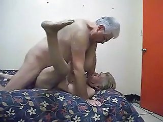 Very Old Mexican Couple