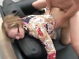 Doggy Styl Gekleed Intensiewe Pornografies Gekleed Naai Doggy Styl Boude