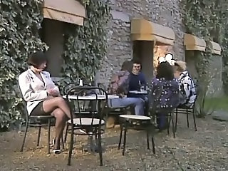 French Outdoor Public European French French Milf