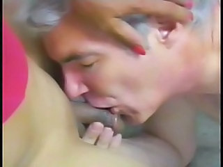 Old And Young Blowjob