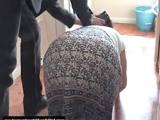 British amateur granny gets her panties sniffed for extra cash