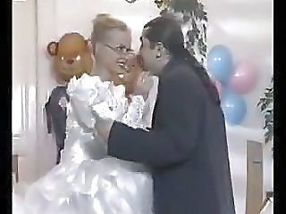 Bride Glasses European European Milf Ass