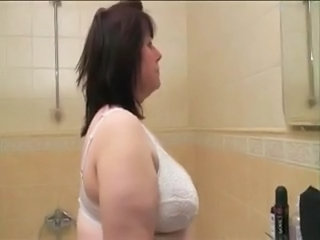 Granny Bathroom Chubby Bathroom Bathroom Tits Big Tits