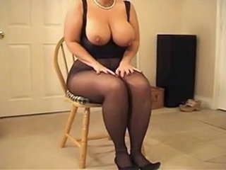 Pantyhose Natural BBW