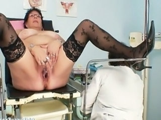 Older Doctor Insertion Ass Big Tits Bbw Mature Bbw Tits