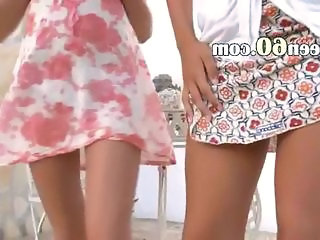 Skirt Outdoor Lesbian Lesbian Teen Outdoor Outdoor Teen