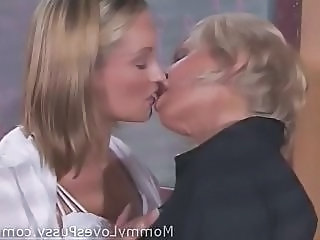 Teacher Mature Mom Kissing Lesbian Kissing Teen Lesbian Mature