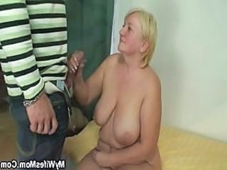 Handjob Big Tits Old And Young Bbw Blonde Bbw Mom Bbw Tits