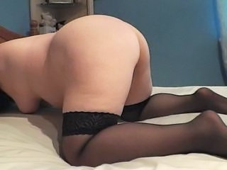 Stockings Ass Amateur