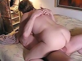 Older Riding Wife