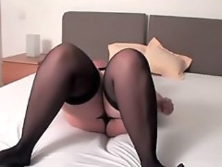 Stockings Chubby Mature