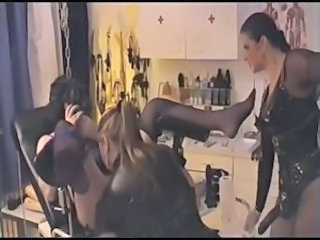 German Bondage European European German Lesbian Threesome