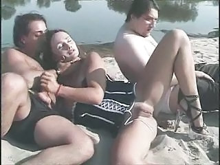 Beach Blowjob Hardcore Threesome Hardcore