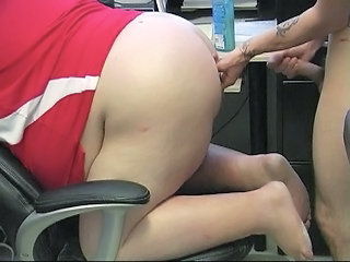 BBW Doggystyle Office