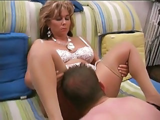 Licking Chubby Mature