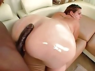Big Cock Oiled Interracial
