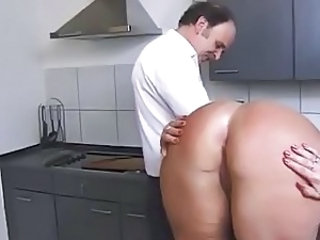 Kinky Couple in the Kitchen 2