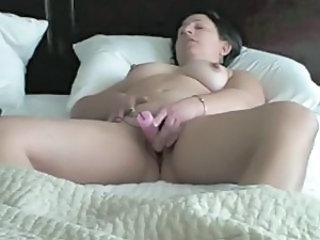 Masturbating Chubby Homemade