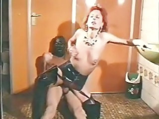 Latex MILF Redhead German German Milf German Vintage