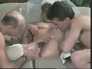 Cuckold Bride Threesome Vintage Hairy