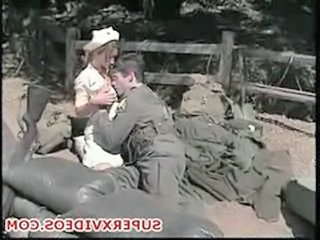 Army Nurse Vintage Outdoor