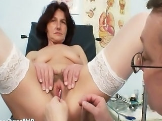 Doctor Insertion Grandma Gyno Insertion