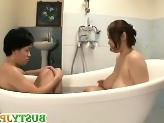 Japanese Asian Bathroom Asian Big Tits Bathroom Bathroom Mom