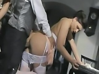 Italian European Lingerie Doggy Ass European Italian