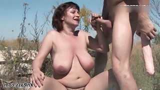 Handjob Mature Mom