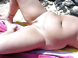 Beach Chubby MILF Beach Nudist Nudist Beach Wife Milf