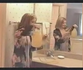 Bathroom MILF Vintage Bathroom Enema European