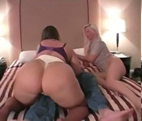 Ass Threesome European