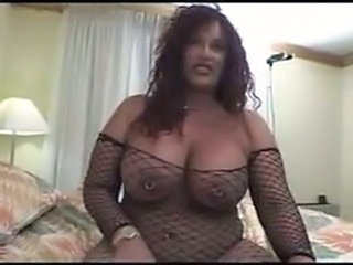 Latina Chubby Fishnet
